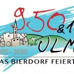 950 Jahre Ulm Logo